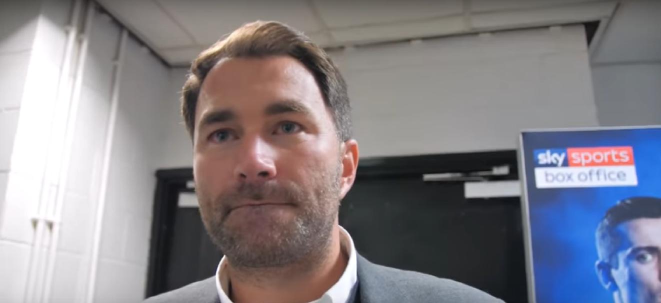 Еди Хърн: Джошуа харесва идеята за двубой с Усик