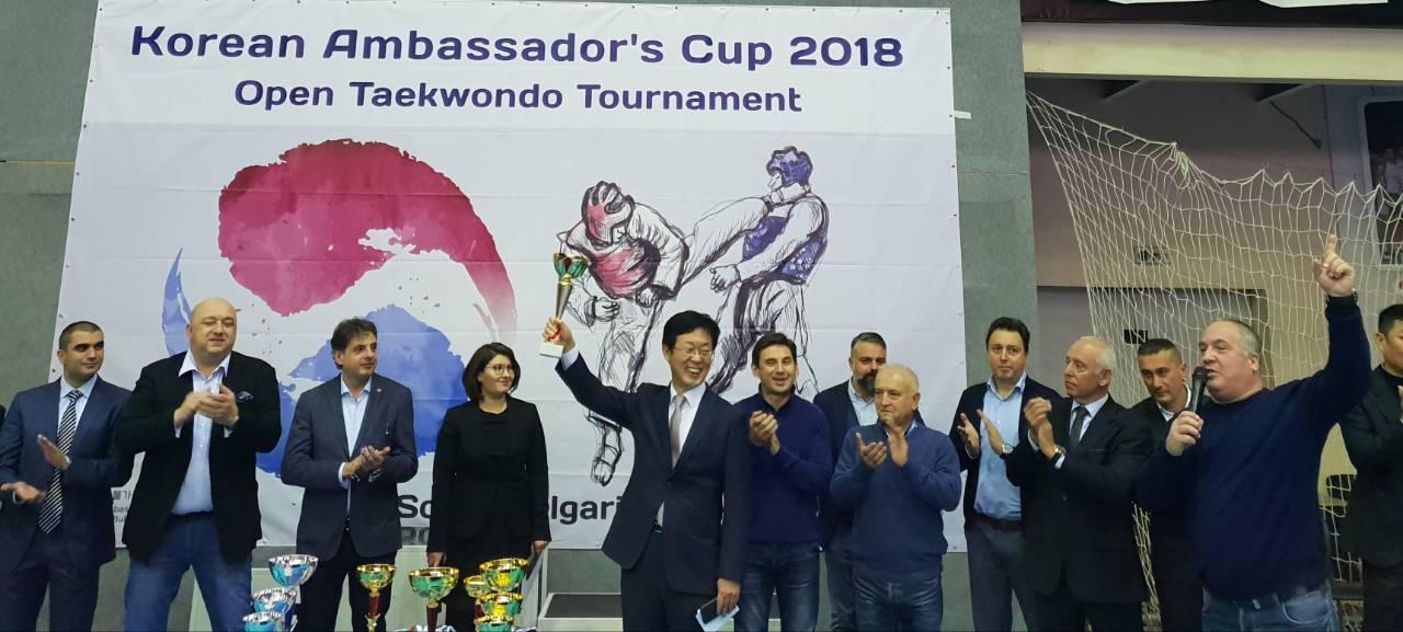 Купата на корейския посланик може да се превърне в континентален турнир