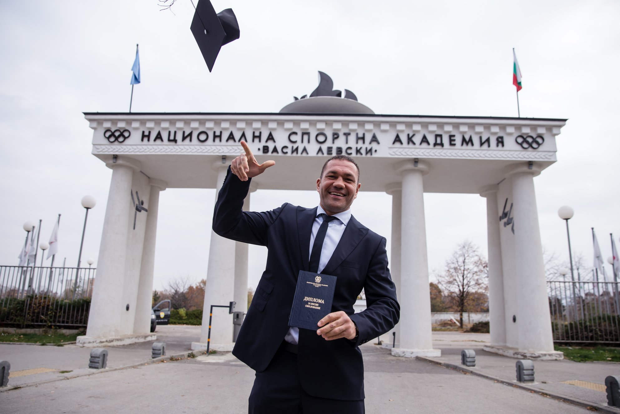 Кубрат Пулев с още едно отличие – взе диплома от НСА (ВИДЕО)