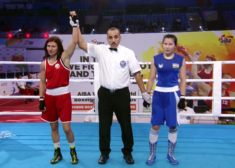 Стойка Петрова си гарантира медал от световното