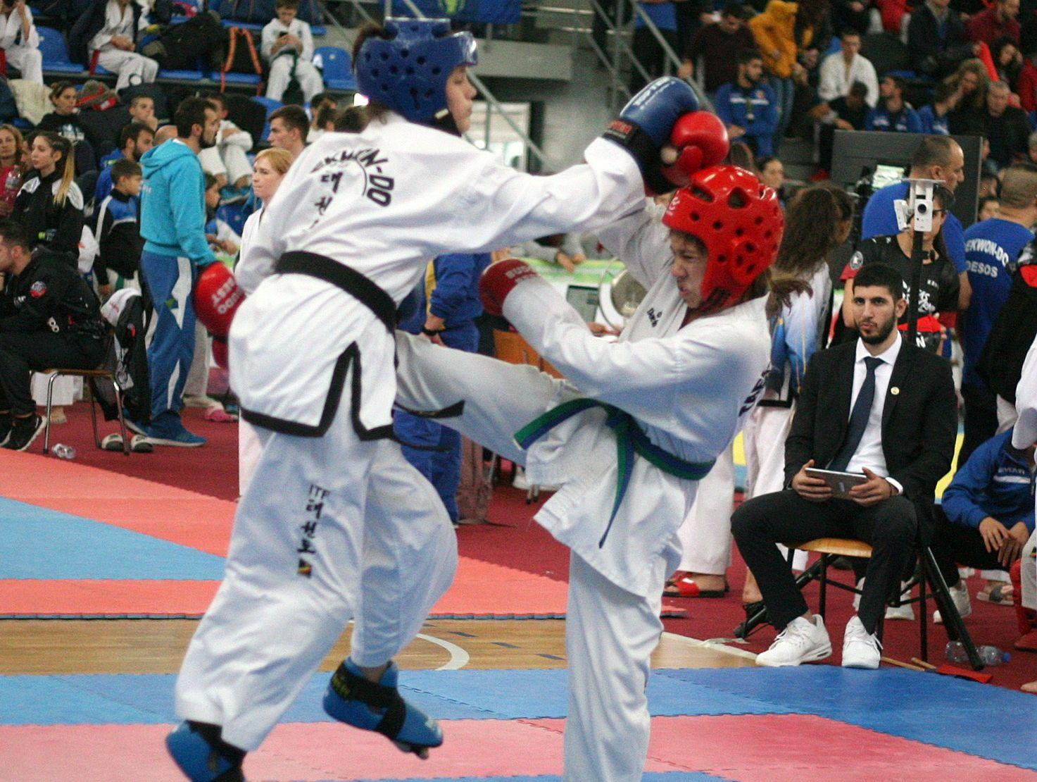 Отличното представяне на българите в Европейския турнир  по Таекуон-До ITF продължава и днес