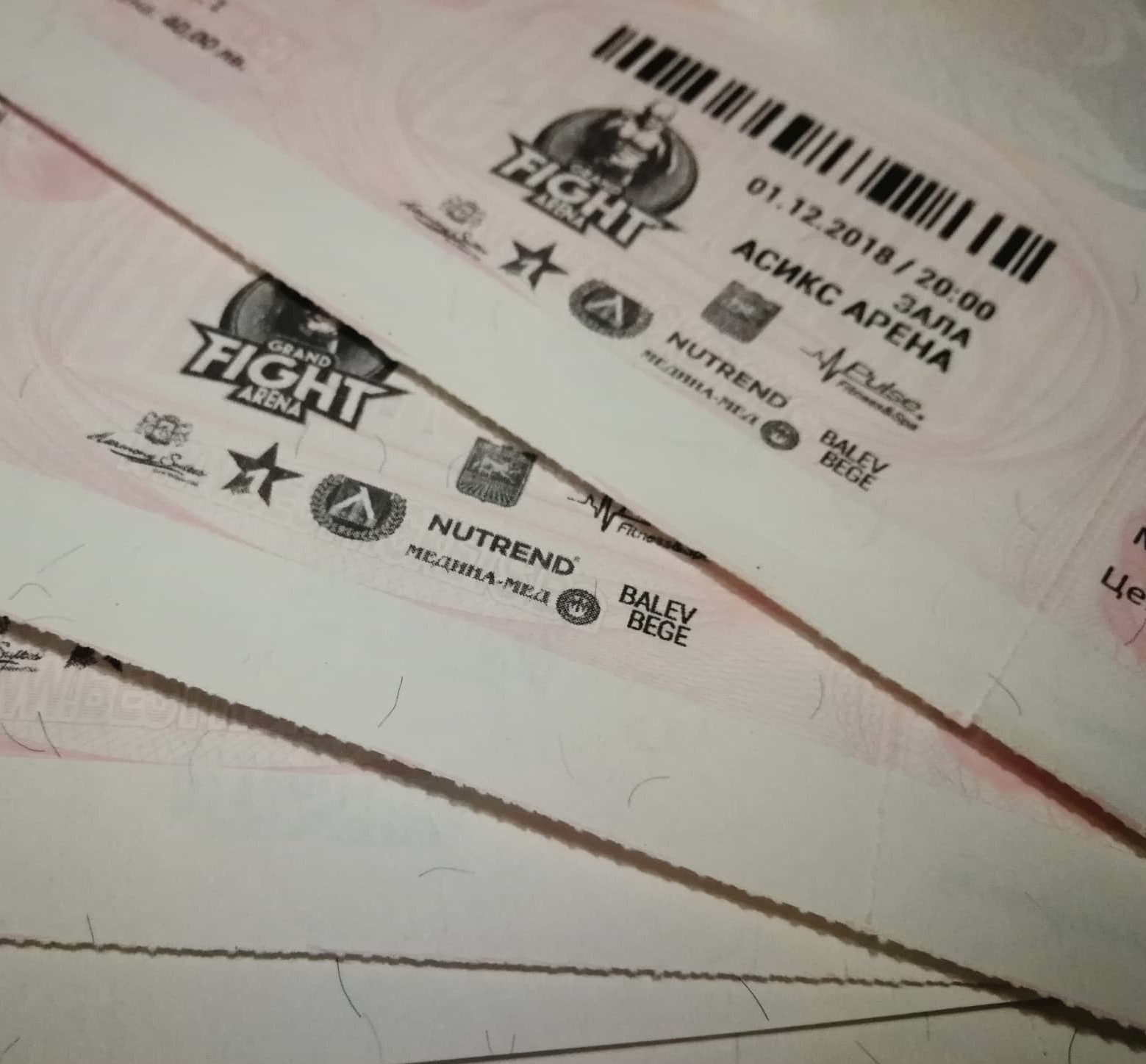 Ето кои спечелиха билети за GRAND FIGHT ARENA от томболата на Boec.BG