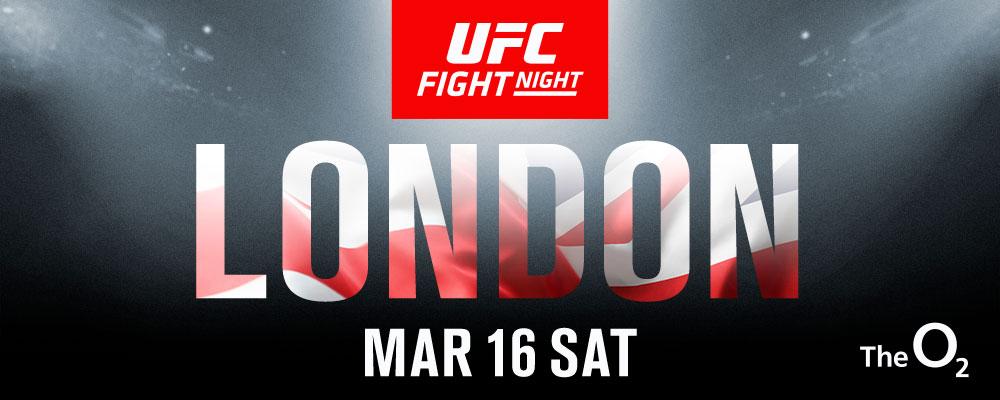 UFC в Лондон през март