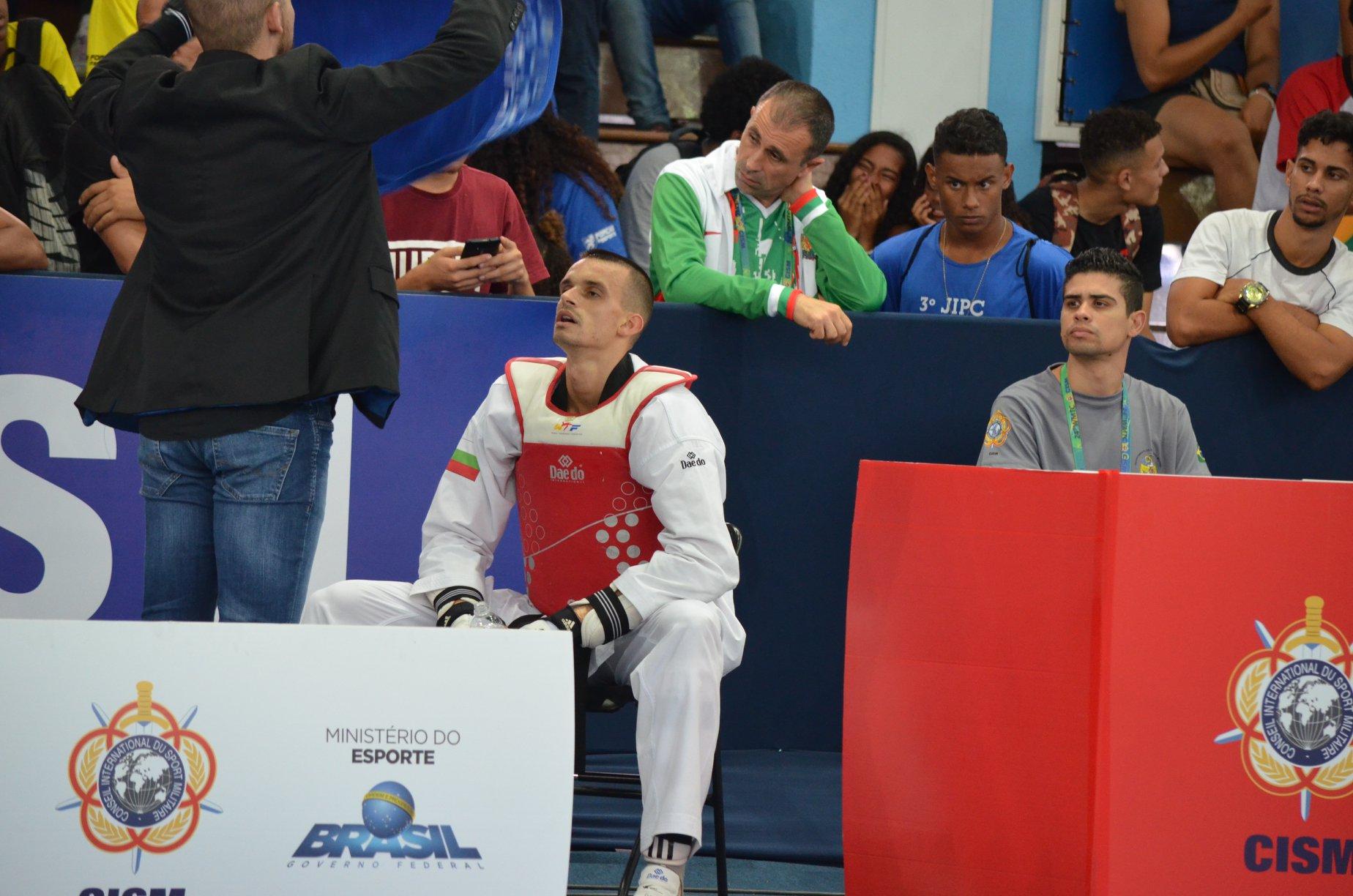 Сребро за Владимир Далаклиев от Световното военно първенство