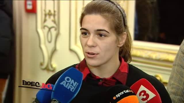 """Тайбе Юсеин бе наградена със """"Спортен икар"""" (ВИДЕО)"""