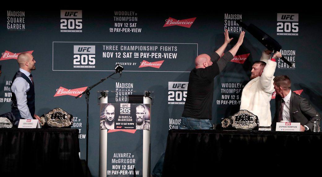 Топ 5: Словестни схватки в UFC