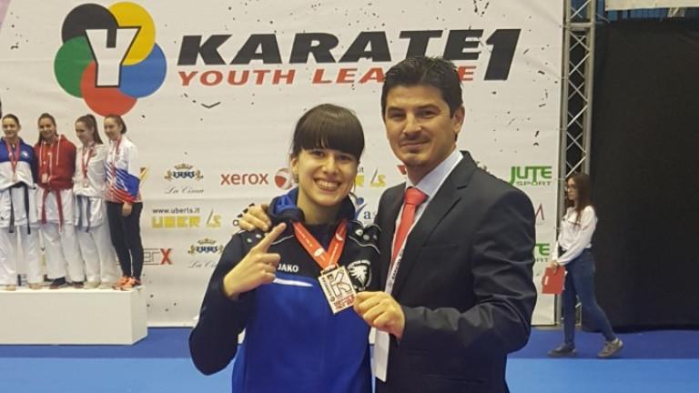 Ивана Каменова със златен медал от Венеция!