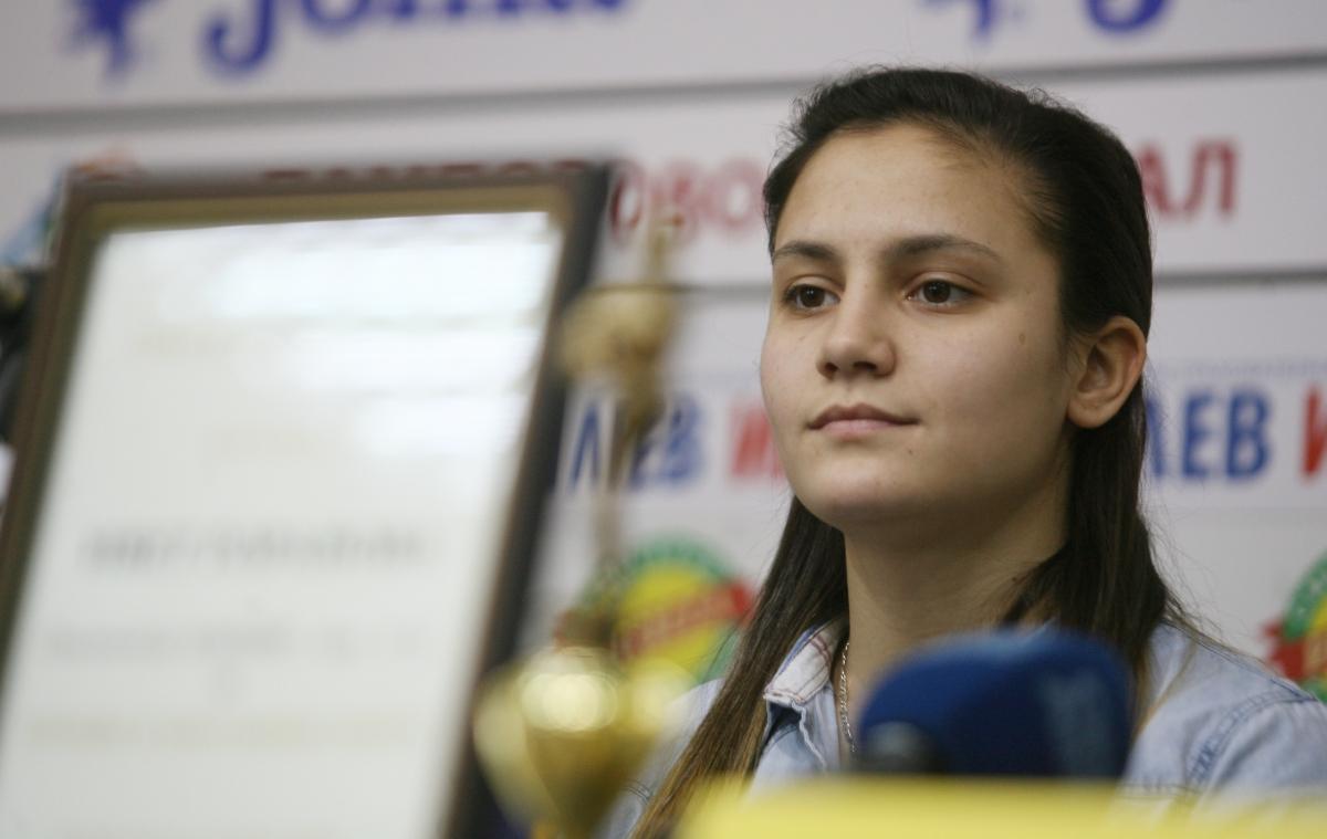 Ивет Горанова си пожела здраве и олимпийска квота (ВИДЕО)