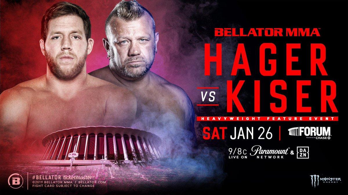 Кечистът Джак Суагър ще дебютира в ММА на Bellator 214