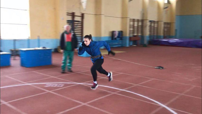 Ивет Горанова смени карате с лека атлетика за празниците (СНИМКИ)