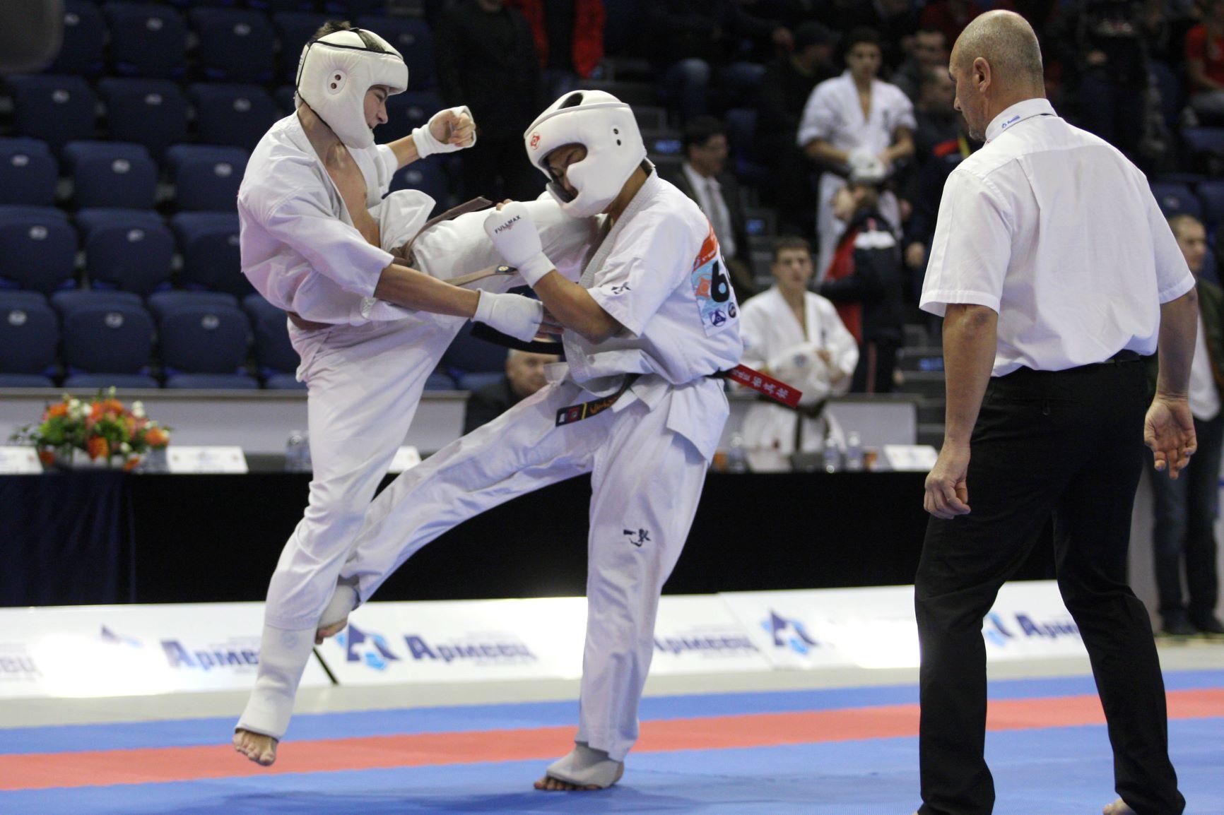 Четирима българи на полуфинал на Световното по карате киокушин