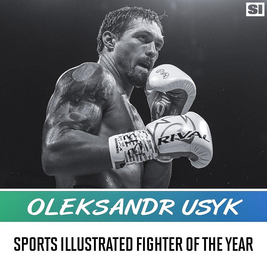 """""""Sports Illustrated"""" обяви Усик за най-добър боксьор на 2018 г."""