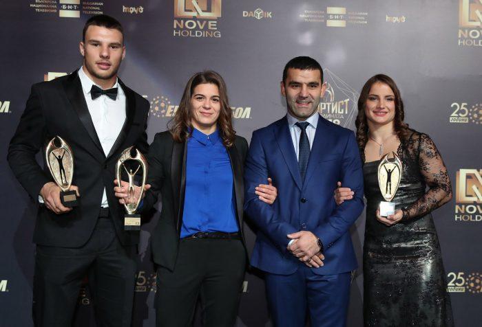 Международните медали в борбата през 2018 г.
