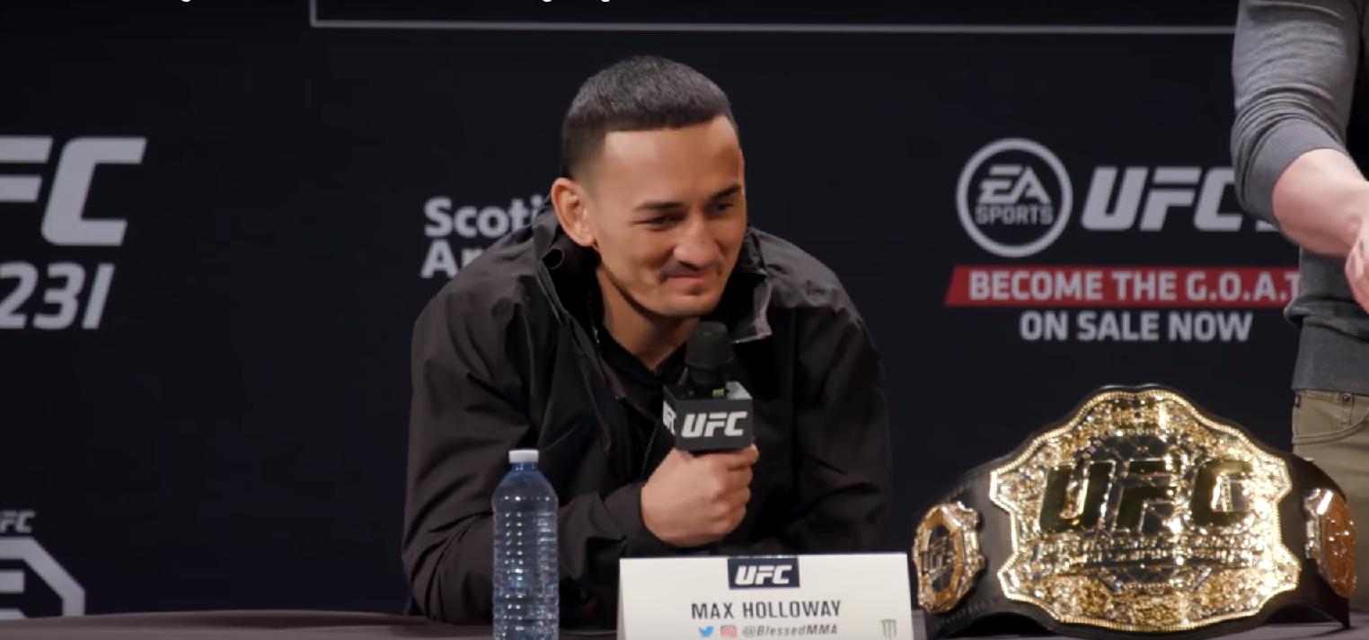 Макс Холоуей срещу Дъстин Порие на UFC 236