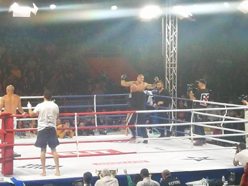 Владислав Кънчев отказа противника си в първия рунд