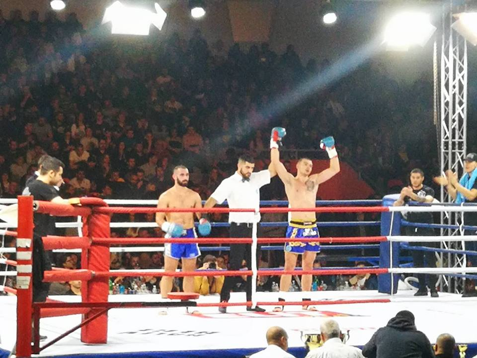 Християн Корунчев с победа в първия двубой на GRAND FIGHT ARENA