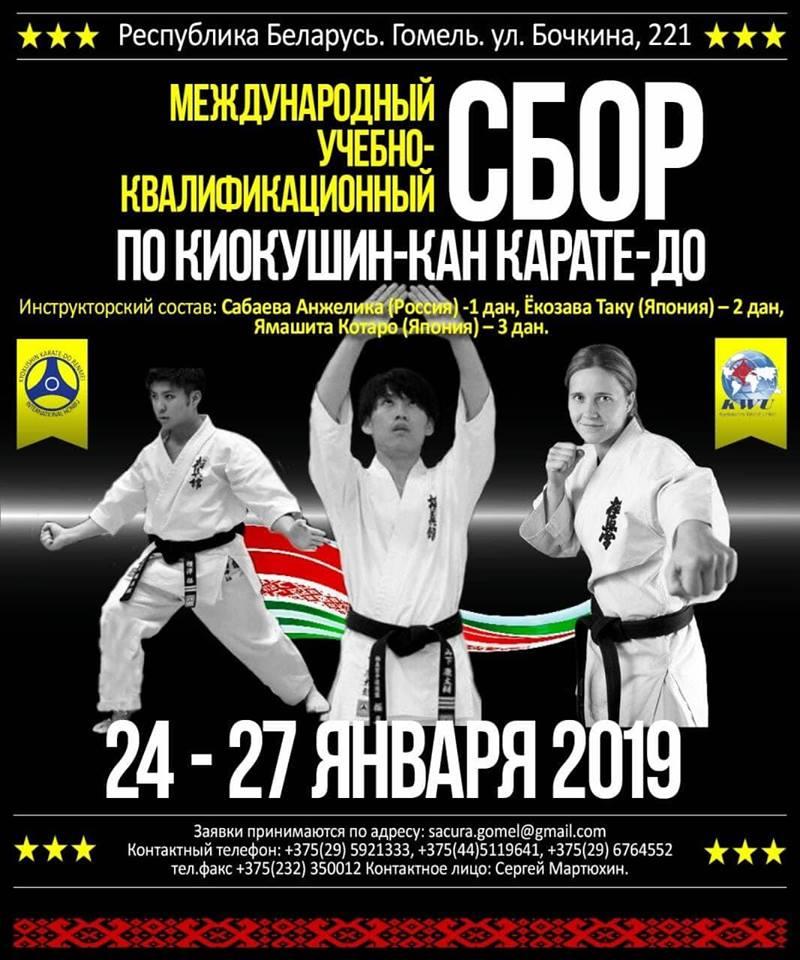 Световни шампиони от Русия и Япония ще гостуват в Беларус за семинар