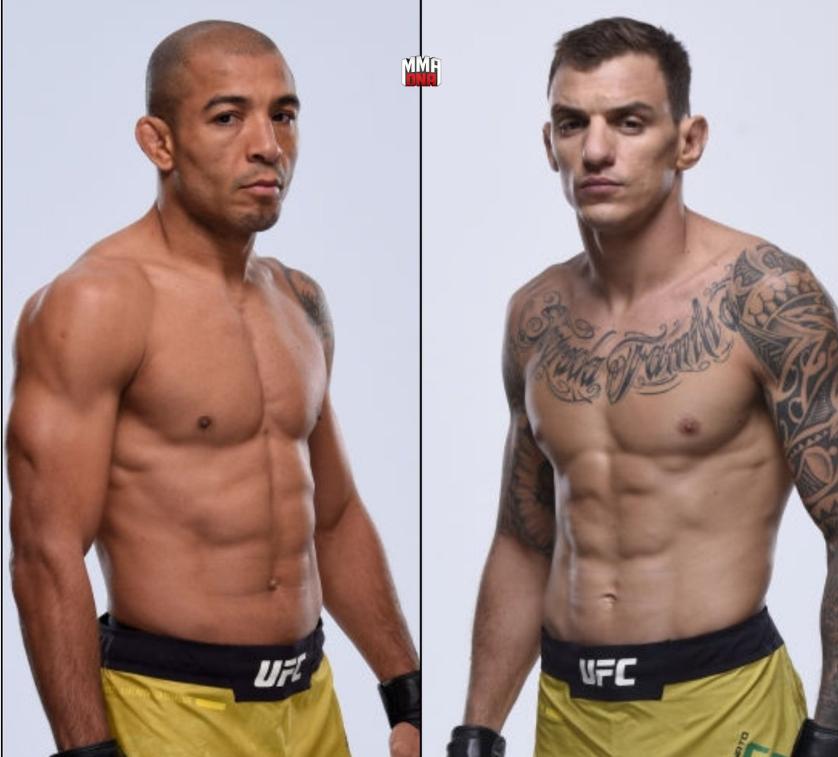 Жозе Алдо срещу Ренато Мойкано на UFC Fortaleza