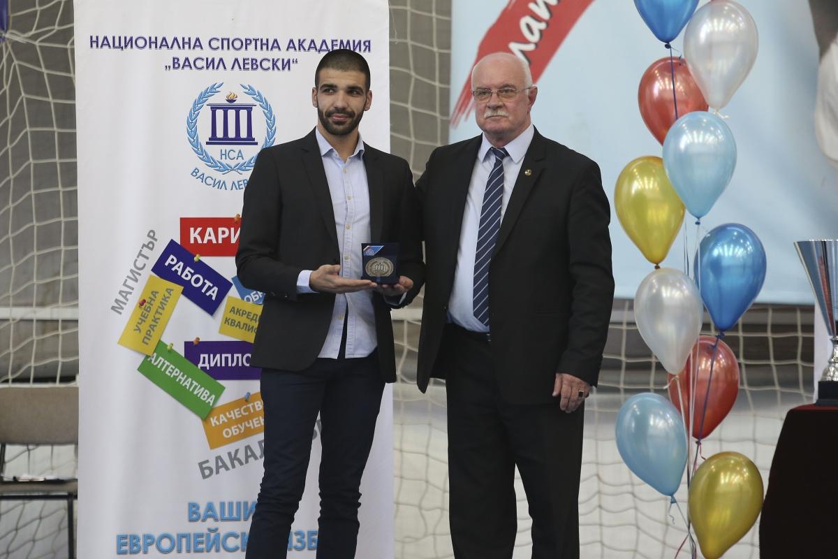 Каратисти са най-добри в Национална спортна академия за 2018 г.