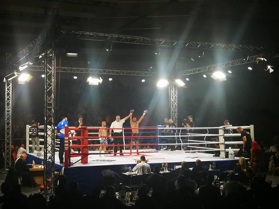 Антон Петров продължи отличното българско представяне на GRAND FIGHT ARENA