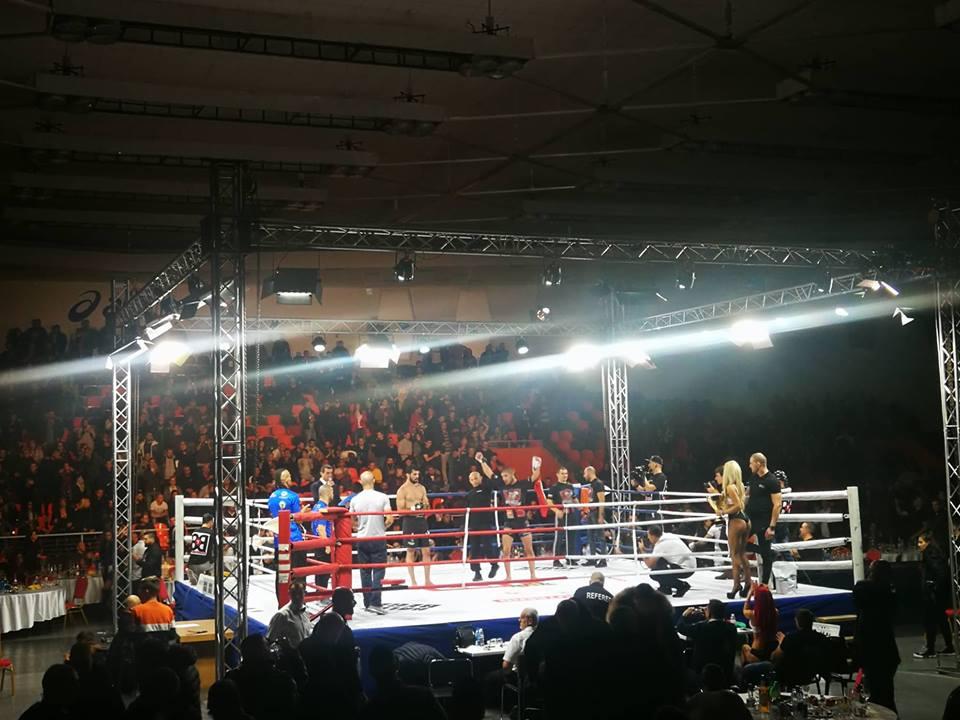 Георги Валентинов победи Жоао Силва в главния двубой на GRAND FIGHT ARENA