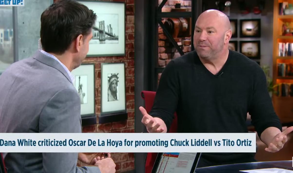 Дейна Уайт е съгласен на дебат с де ла Оя по телевизията (ВИДЕО)