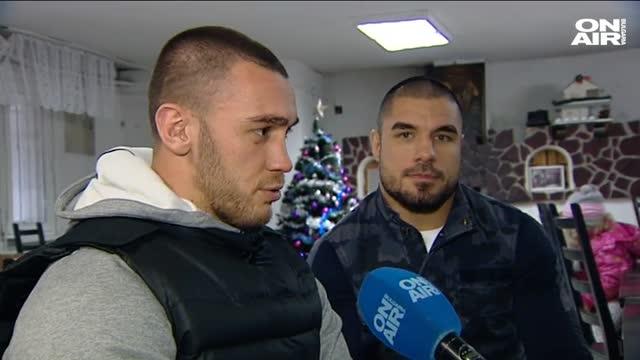Благородната кауза на двама български бойци (ВИДЕО)