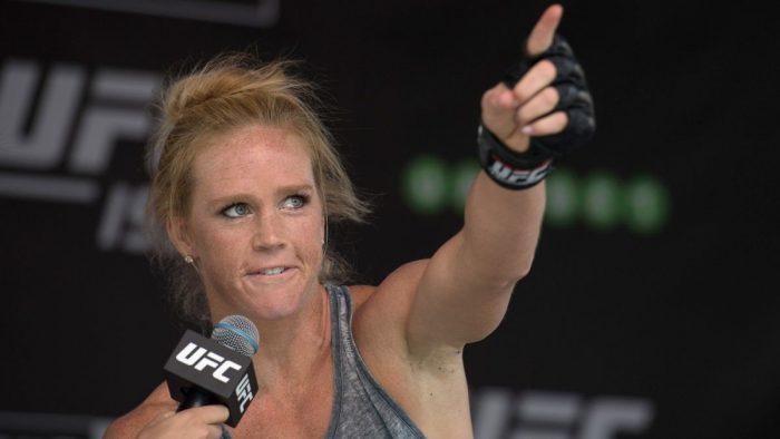 Холи Холм няма да се бие на UFC 243