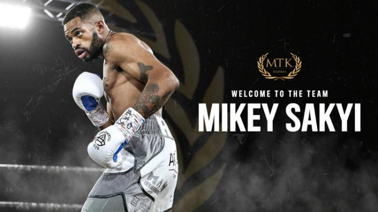 Майки Саки подписа с MTK Global