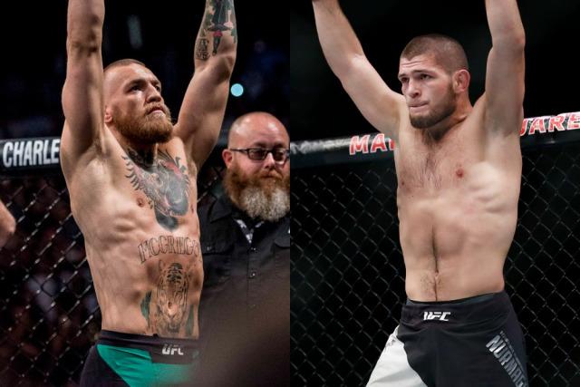 Реакциите на Конър и Хабиб след UFC 235