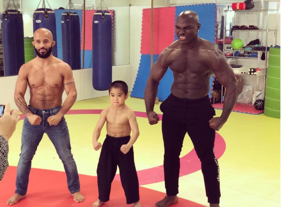 Японската сензация Риусей тренира с бивш шампион на UFC (ВИДЕО)