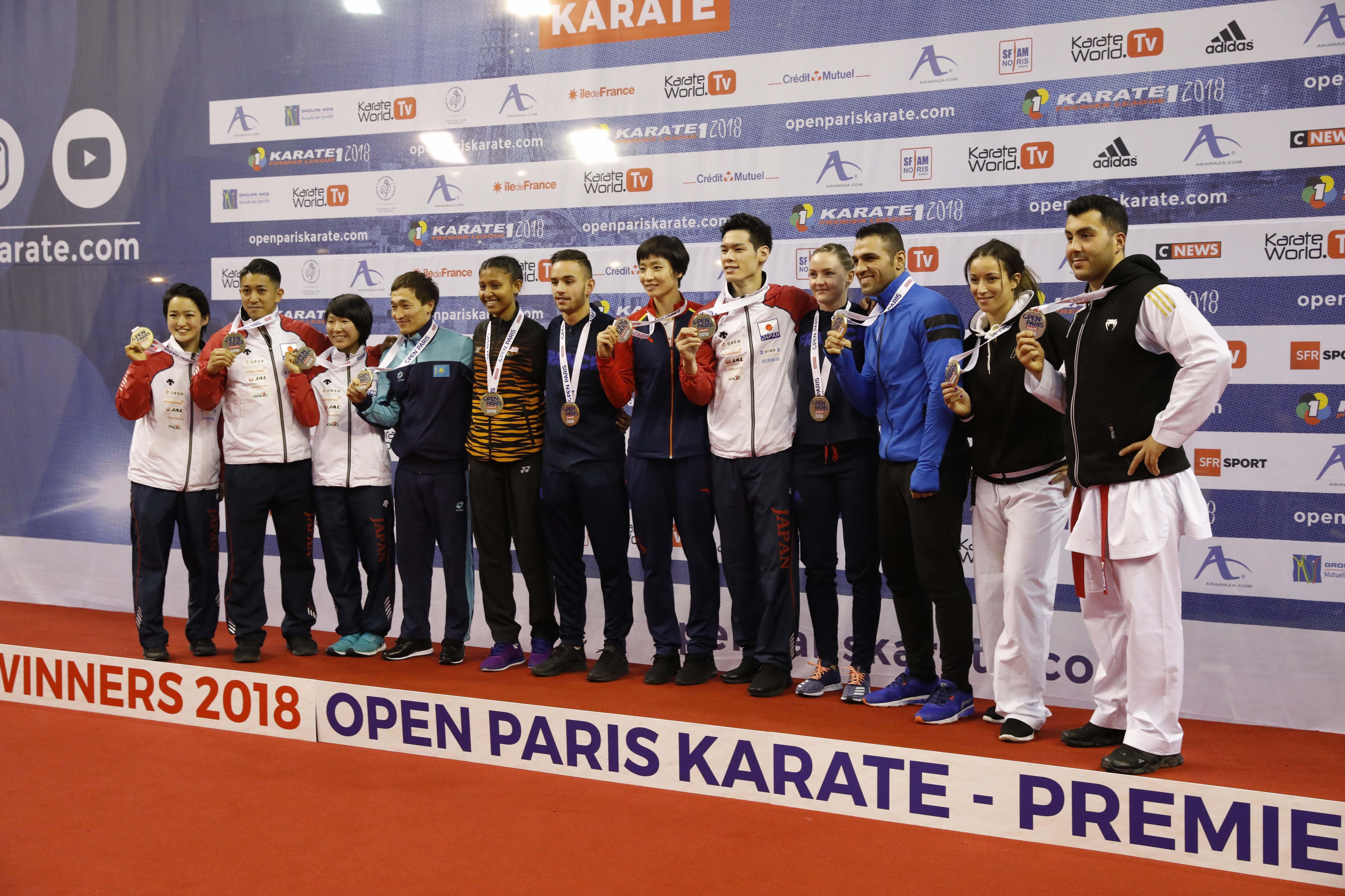 """Златната лига по карате """"ката"""" в Париж стартира със 776 състезатели"""