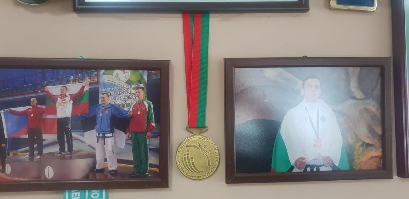 Европейски шампион по таекуон-до продава медала си заради болно момче
