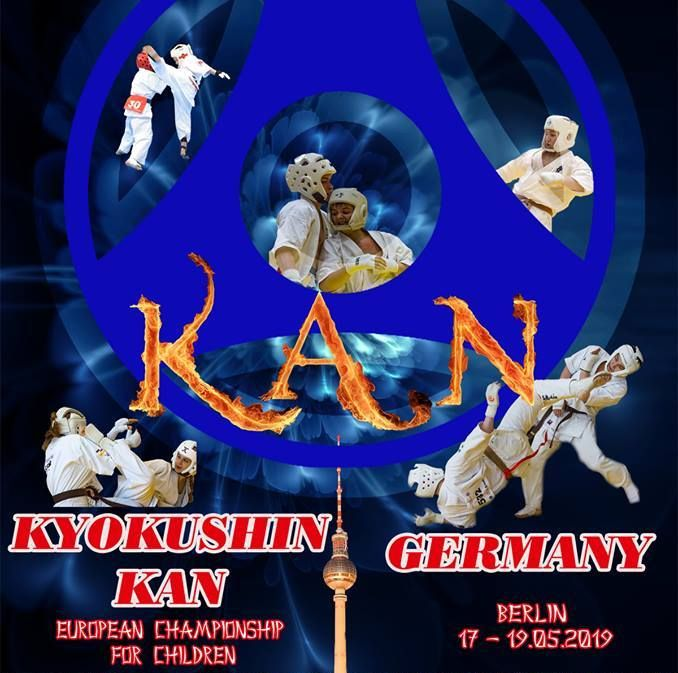 Вторият европейски шампионат за деца по киокушин кан ще се проведе в Берлин