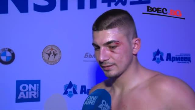 Доброслав Радев след SENSHI: Исках да покажа на хората, че не сме аматьори (ВИДЕО)