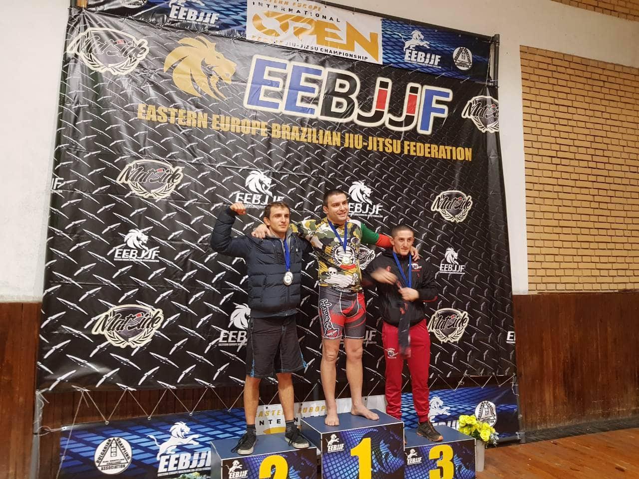 Първото Източноевропейско първенство по граплинг се проведе в София