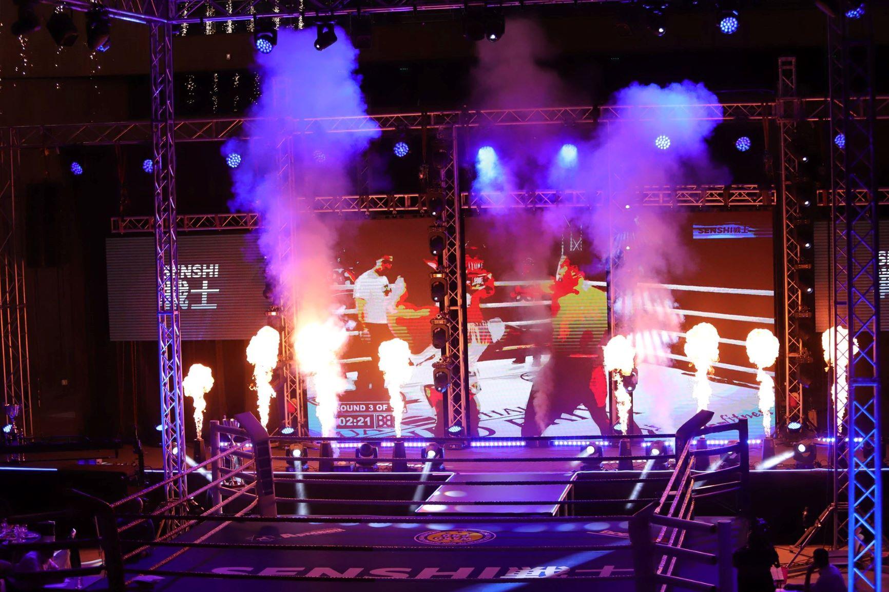 Невиждано шоу – звук, светлина и много бойна класа на SENSHI (ГАЛЕРИЯ)