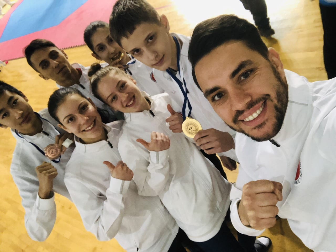 Шест медала за българските таекуондисти в Кипър