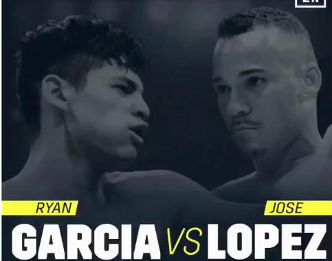 Непобеденият Гарсия срещу Хосе Лопес на 30-ти март