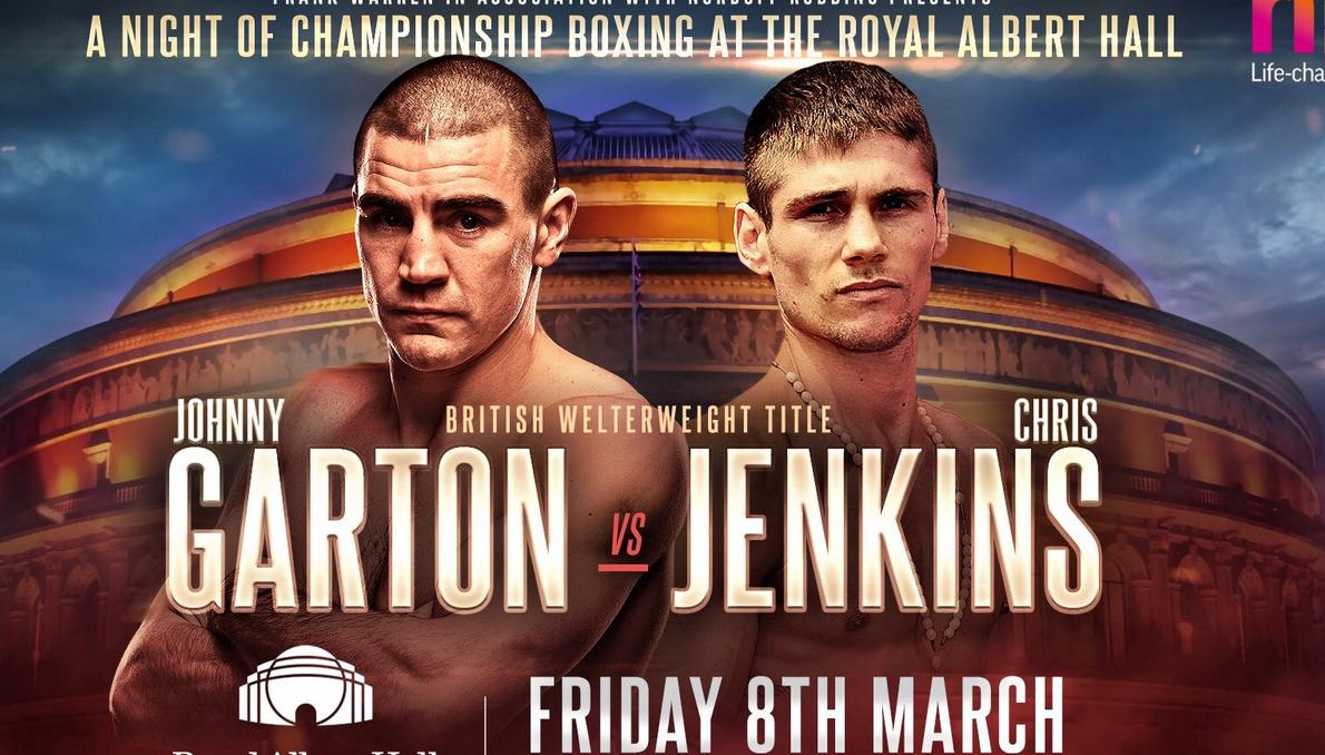Гартън срещу Дженкинс ще се бият в Лондон