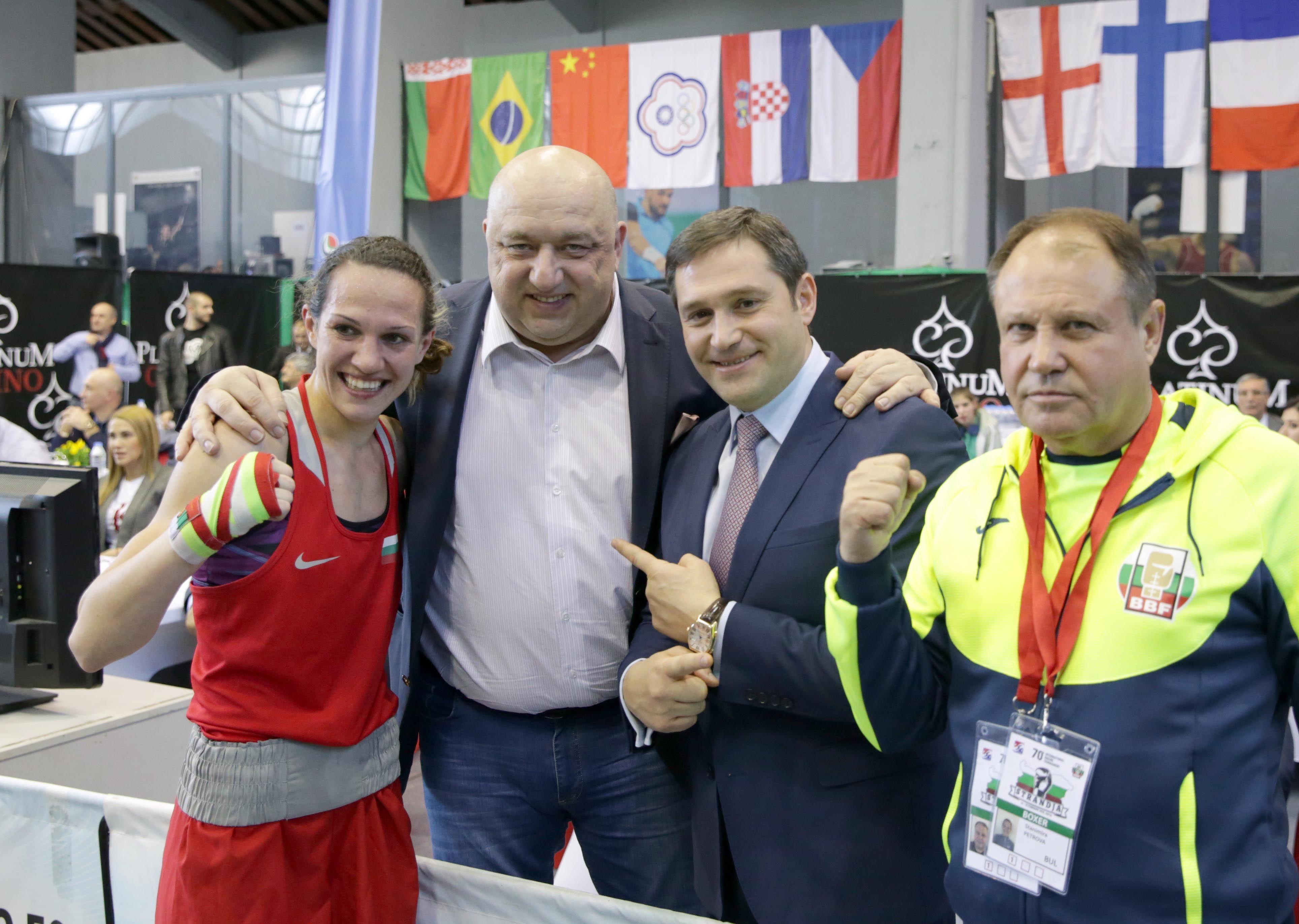 Шампионката Петрова: Не мисля за очаквания и не се напрягам