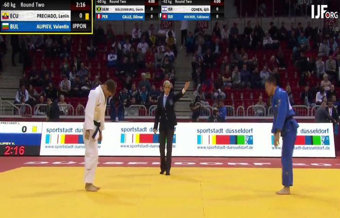 Алипиев започна с победа участието си на Големия шлем