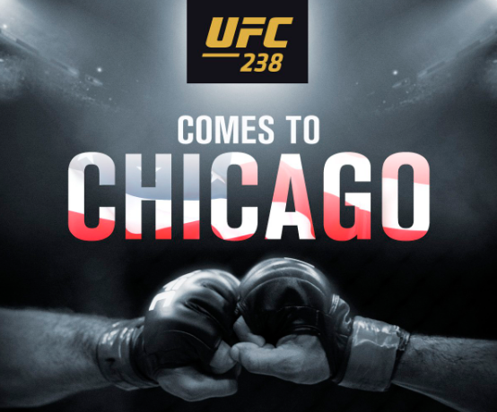 UFC 238 ще е в Чикаго