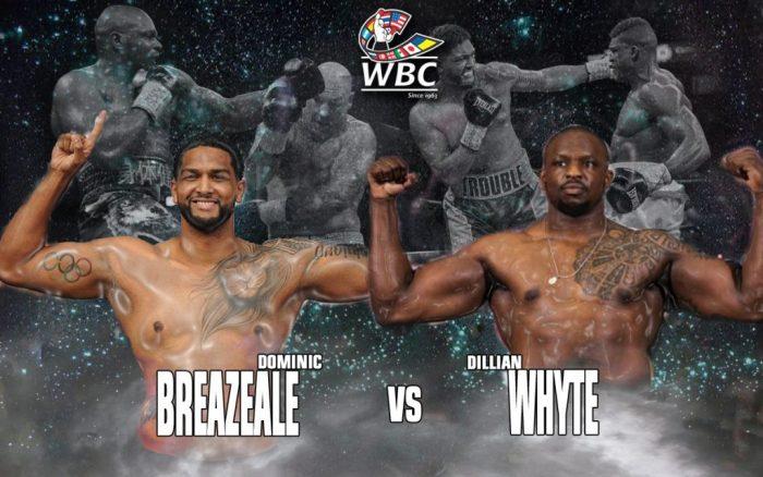 WBC нареди мач между Доминик Бризийл и Дилиън Уайт
