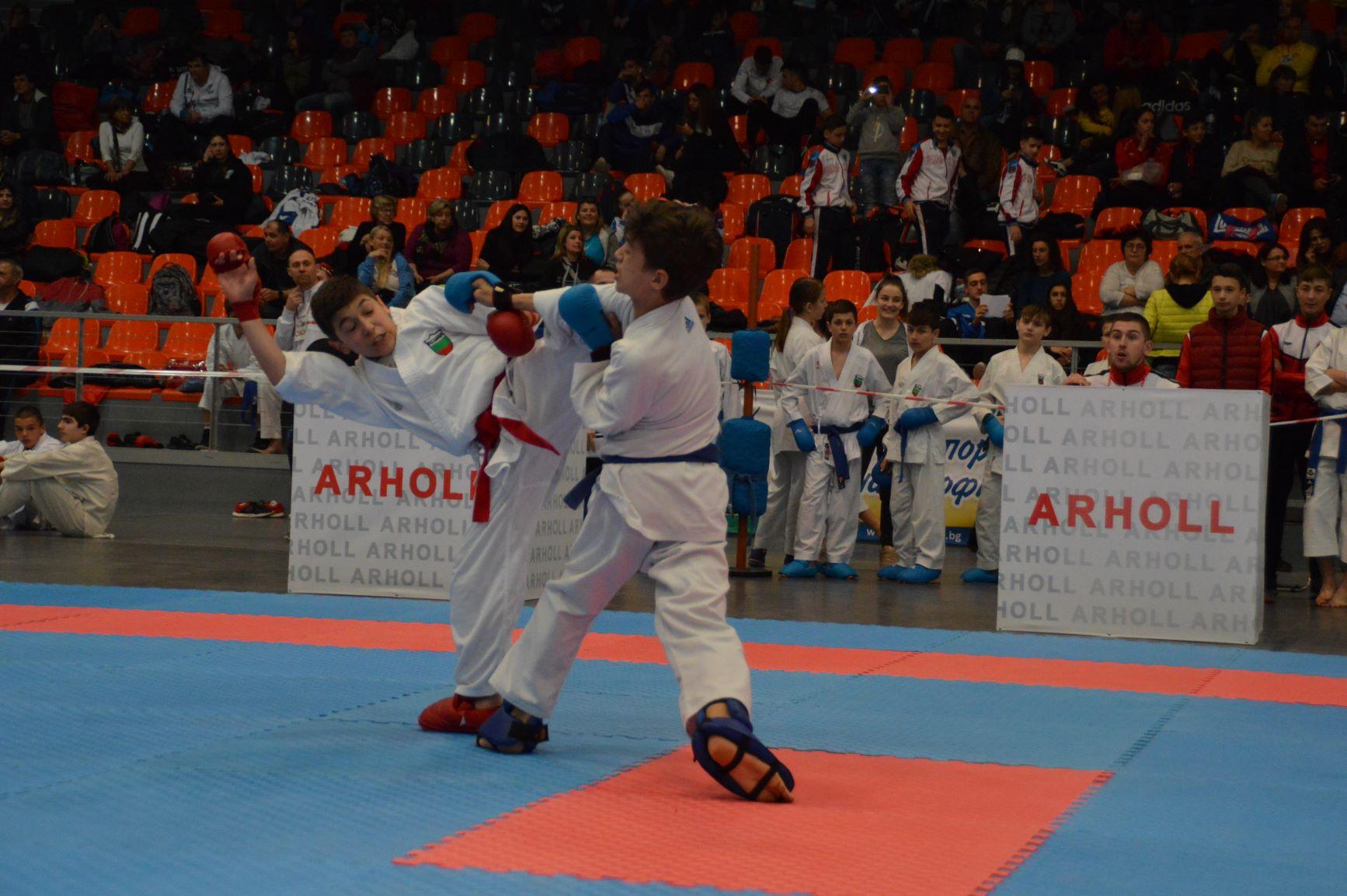 В София стартира турнир по карате с 80 клуба от 22 страни (ВИДЕО)