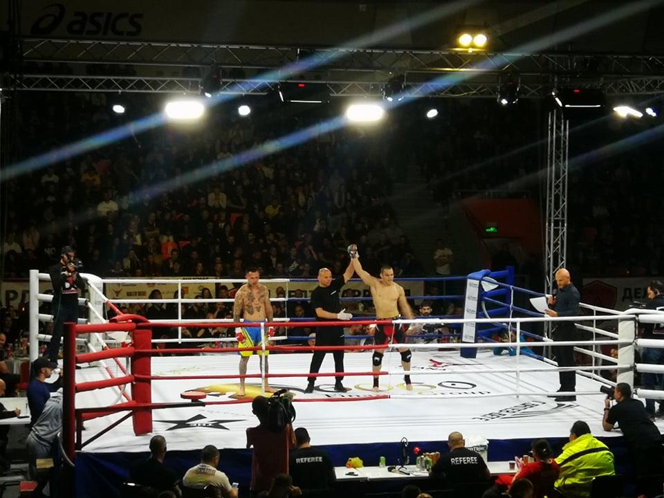 Живко Стоименов с бърза победа на GRAND FIGHT ARENA 2