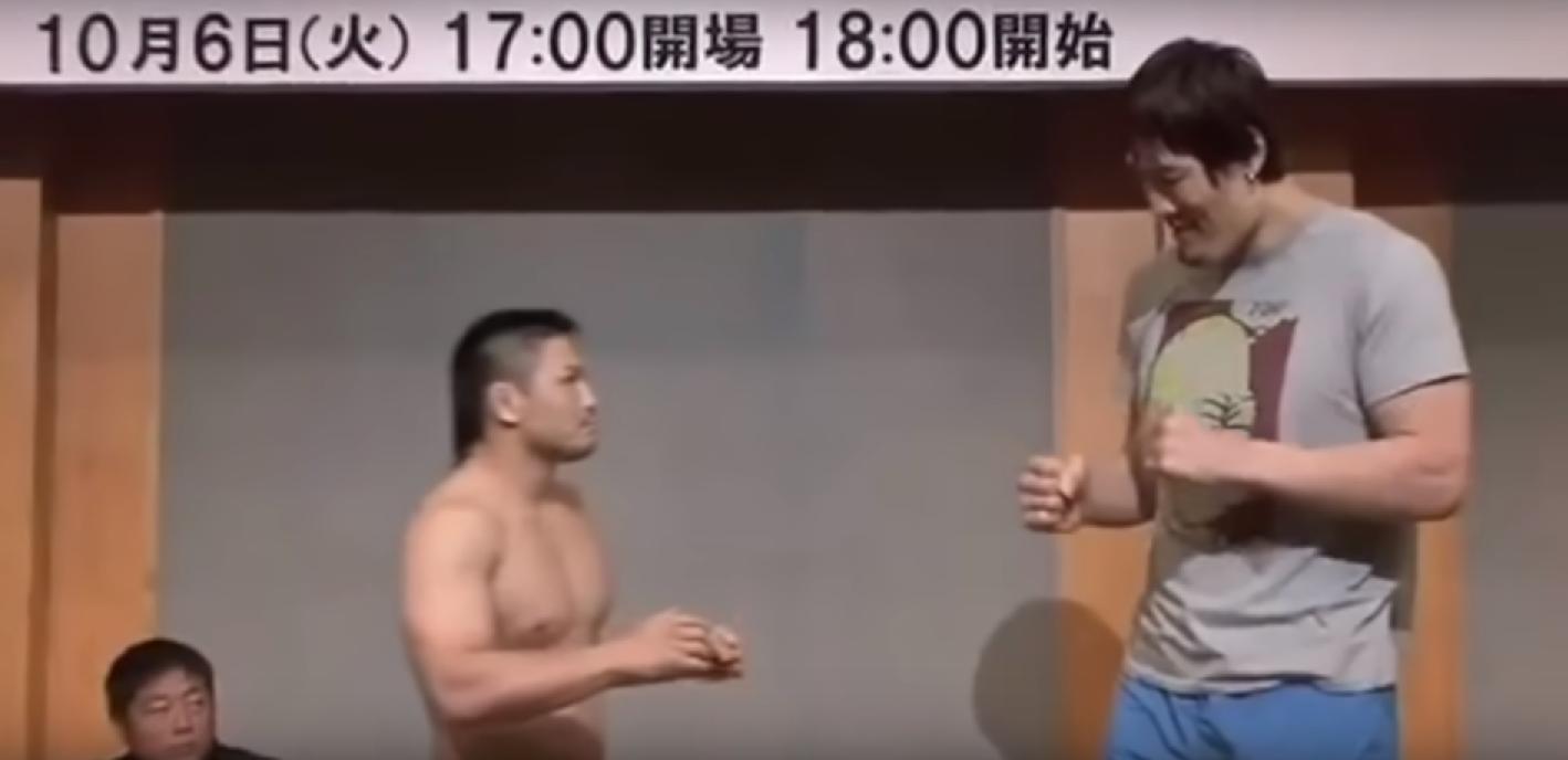 Когато Давид срещне Голиат в бойните спортове (ВИДЕО)