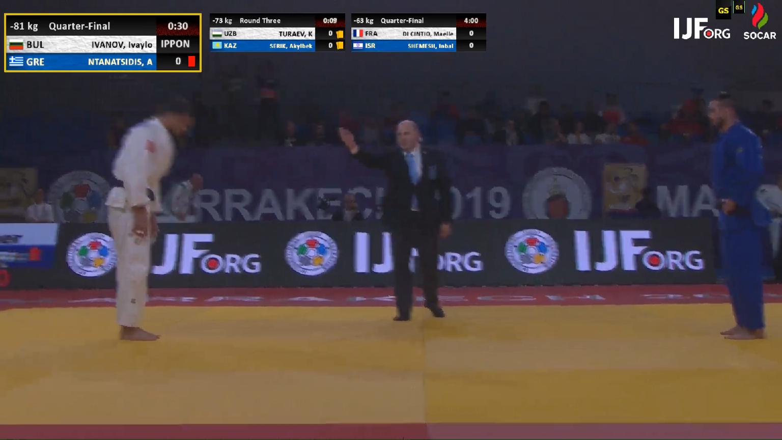 Безкомпромисен Иванов е на полуфинал на Гран При Маракеш