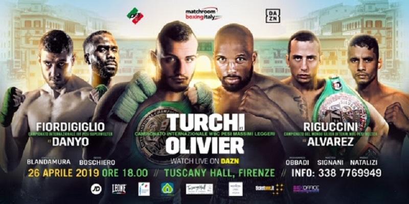 Matchroom Boxing с бойно шоу във Флоренция