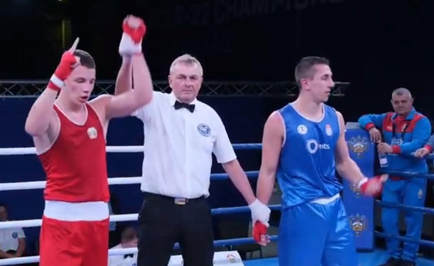 Първа българска победа от Европейското по бокс до 22 г. (ВИДЕО)